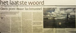 Het ingekorte artikel dat in het Parool van 22-11-2012 stond